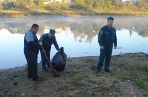 На Смоленщине очищено 200 километров берегов водоемов
