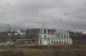 В Смоленске восстановят Крестовоздвиженскую церковь