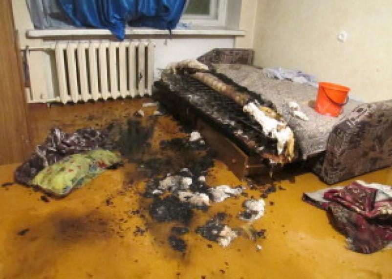 В Рославле непотушенная сигарета стала причиной гибели мужчины