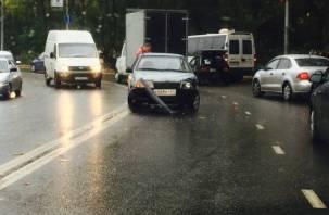 На Большой Советской произошло ДТП с участием маршрутного такси