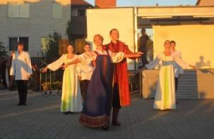 На Смядыни прошел фестиваль памяти святых Бориса и Глеба