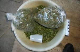 У смолянина изъяли 5 килограммов марихуаны