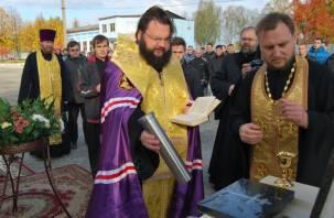 В смоленской колонии появится православный храм