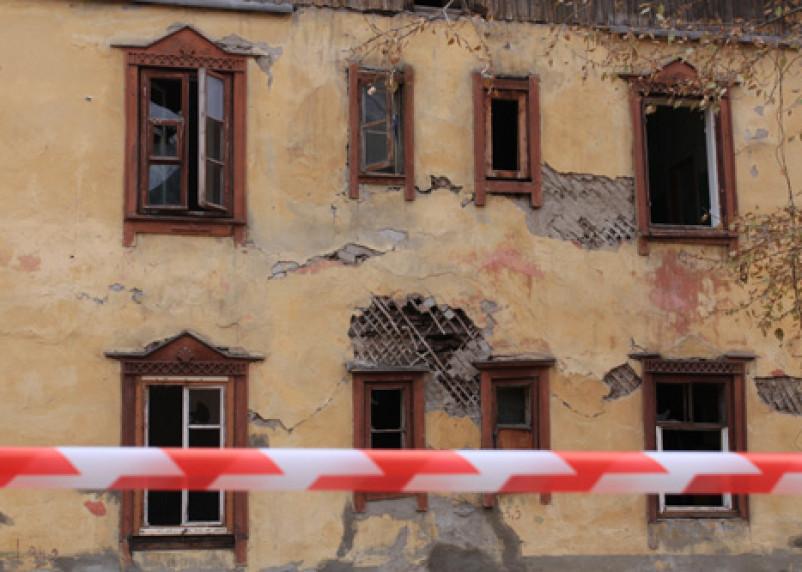 В Гагарине жители бараков отказываются от нового жилья