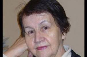 Умерла известная смоленская поэтесса Вера Иванова