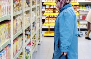 На Смоленщине выросли цены на продукты питания