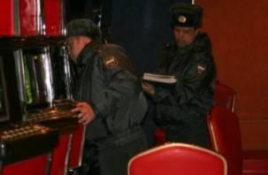 Смоленская полиция изъяла на Киселевке десять игровых автоматов