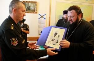 Смоленская епархия подарила черноморскому флоту походный храм