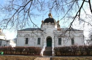 В Гагарине православной церкви возвращен Благовещенский собор