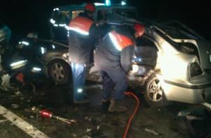 В аварии в Кардымовском районе погиб человек
