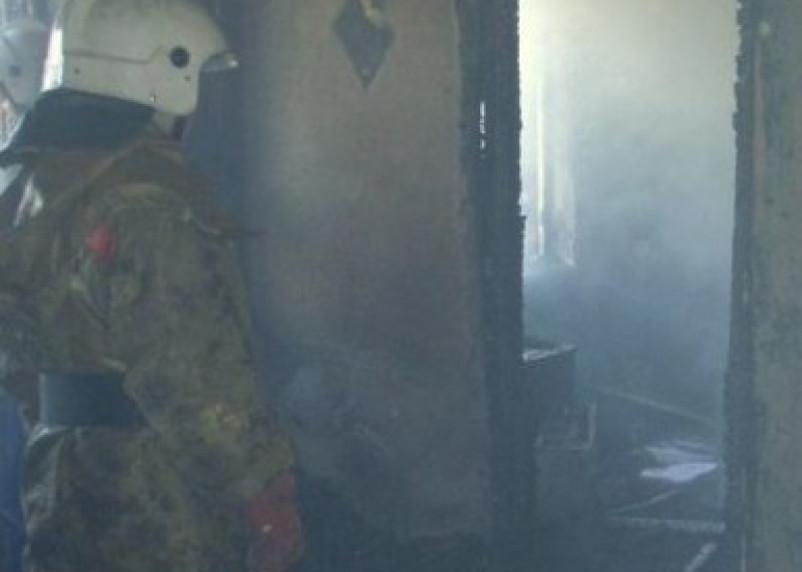 В смоленском микрорайоне Южный при пожаре погиб мужчина