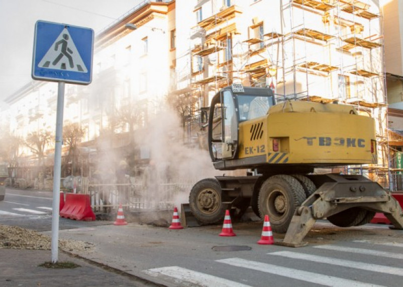 В Смоленске без тепла и горячей воды остались 78 домов, школа и детский сад