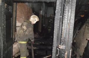 В Сафонове при пожаре погиб мужчина