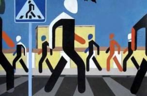 За неделю пешеходы Смоленщины более тысячи раз нарушили ПДД