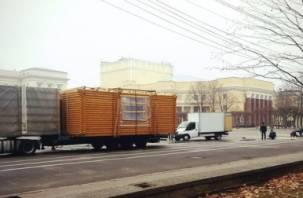 На площади Ленина в Смоленске снова появятся деревянные домики