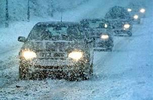 К капризам погоды смоленских водителей подготавливает полиция