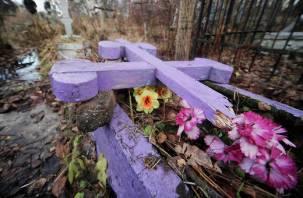 Малолетние школьники надругались над Касплянским кладбищем