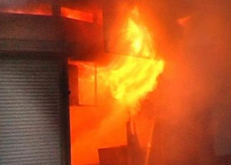 Рославльчанин из мести спалил торговый павильон своего начальника