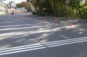 В Смоленске на Большой Советской улице снова столкнулись машины