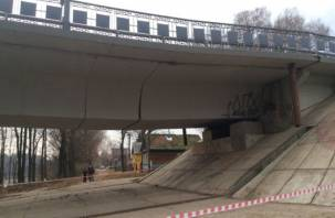 Просевший мост через Двину в Велиже будут обследовать специалисты