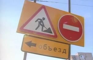 В Смоленске закрыто движение по улице Соболева