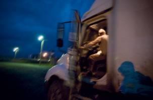 Ночью в Вяземском районе белорус пытался обокрасть фуру с бытовой техникой