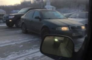 Транспортный коллапс в Смоленске