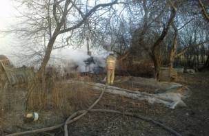 В Рославльском районе в бане сгорел 61-летний мужчина