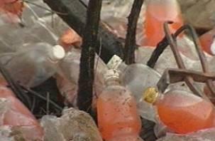 В Смоленске обнаружена лимонадная свалка