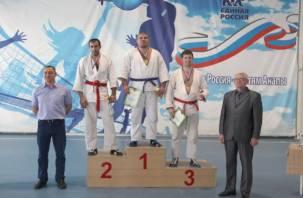 Смолянин стал чемпионом таможенной службы России по рукопашному бою