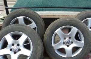 Житель Сафоново воровал колеса, а потом продавал их через Интернет