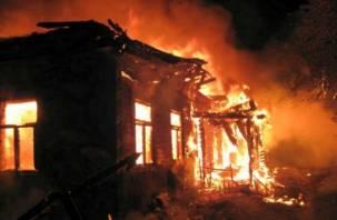 В Смоленской области две семьи остались без крыши над головой