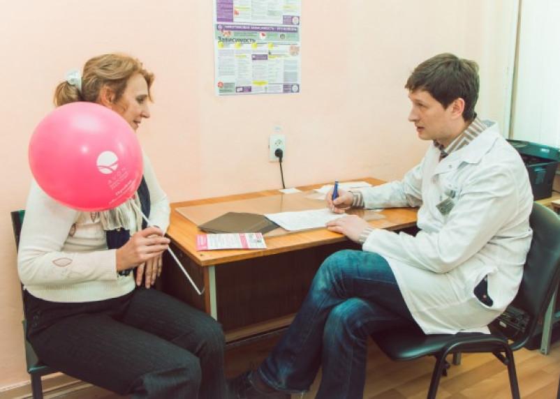 Смолянки посетили маммолога в преддверии Нового года