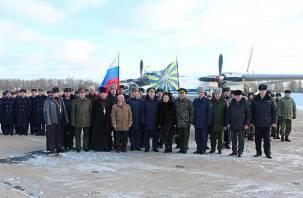 В Шаталово вернулись летчики