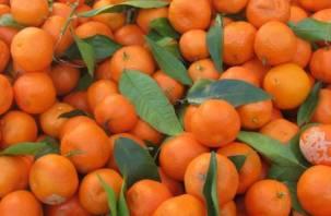 8 тонн итальянских мандаринов не попали в Смоленск