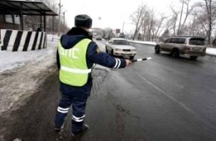 За один день «сплошных проверок» на смоленских дорогах выявлено 660 нарушений ПДД