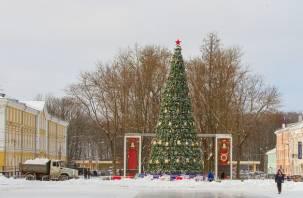 Открытие главной новогодней елки Смоленска состоится 24 декабря