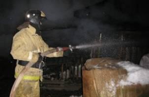 В починковской деревне Шанталово сгорело здание почты