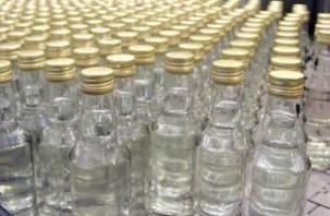 Операция «Правопорядок» выявила более 2 тысяч литров контрафактной водки