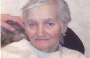 Пропавшая в сентябре смоленская пенсионерка еще не найдена