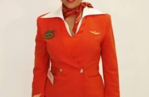 Смолянку Кристину Бондарчук признали одной из самых красивых стюардесс России
