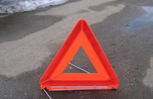 В Смоленской области в ДТП пострадал водитель