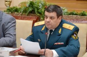 Главный спасатель области Михаил Осипенко освобожден от занимаемой должности