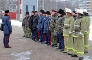 Смоленские казаки будут тушить пожары