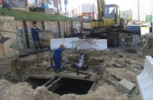 В Смоленске завершается реконструкция тепломагистрали по улице 25 Сентября