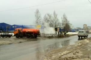 В Смоленске завершен ремонт трубопровода на ул. Индустриальной