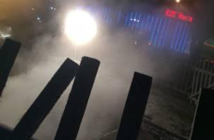 Прорыв теплотрассы в Смоленске: поиск «крайних» продолжается