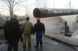 Отключение отопления в центре Смоленска запланировано на 30 января