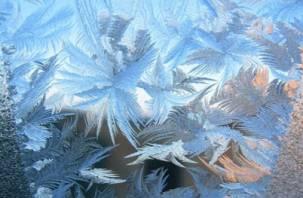 В рождественскую ночь столбик термометра опустится ниже минус 20 градусов