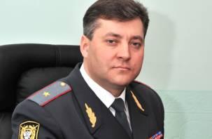 Начальника смоленской полиции поздравил журналистов с Днем российской печати